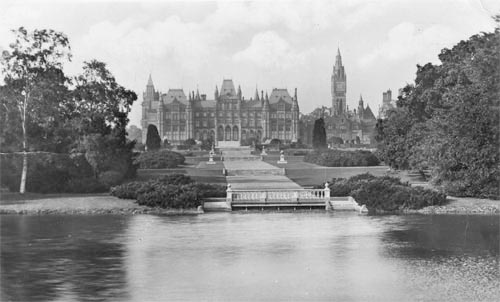 Eaton Hall, East Front from the River