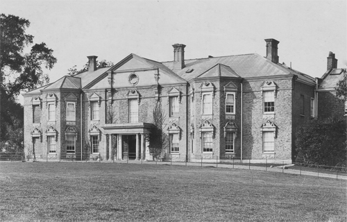 list of manor houses in essex