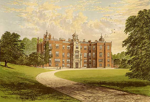 Beaudesert Hall - 1870